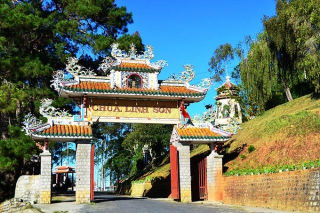 Địa điểm du lịch - Chùa Linh Sơn Đà Lạt