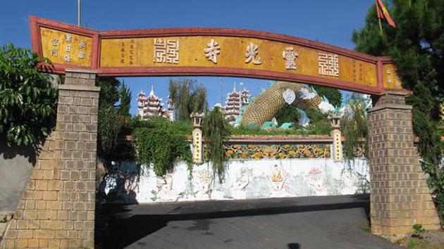 Địa điểm du lịch - Chùa Linh Quang Đà Lạt