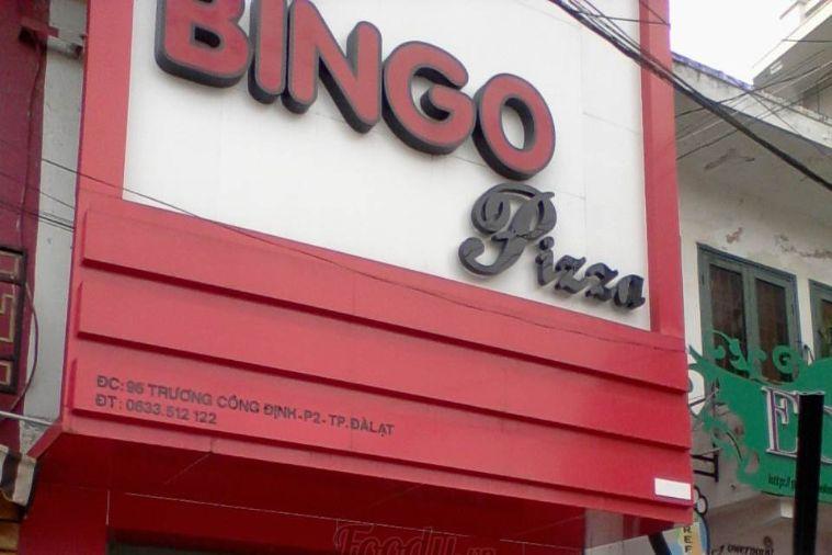 Quán bingo pizza Đà Lạt - Trương Công Định