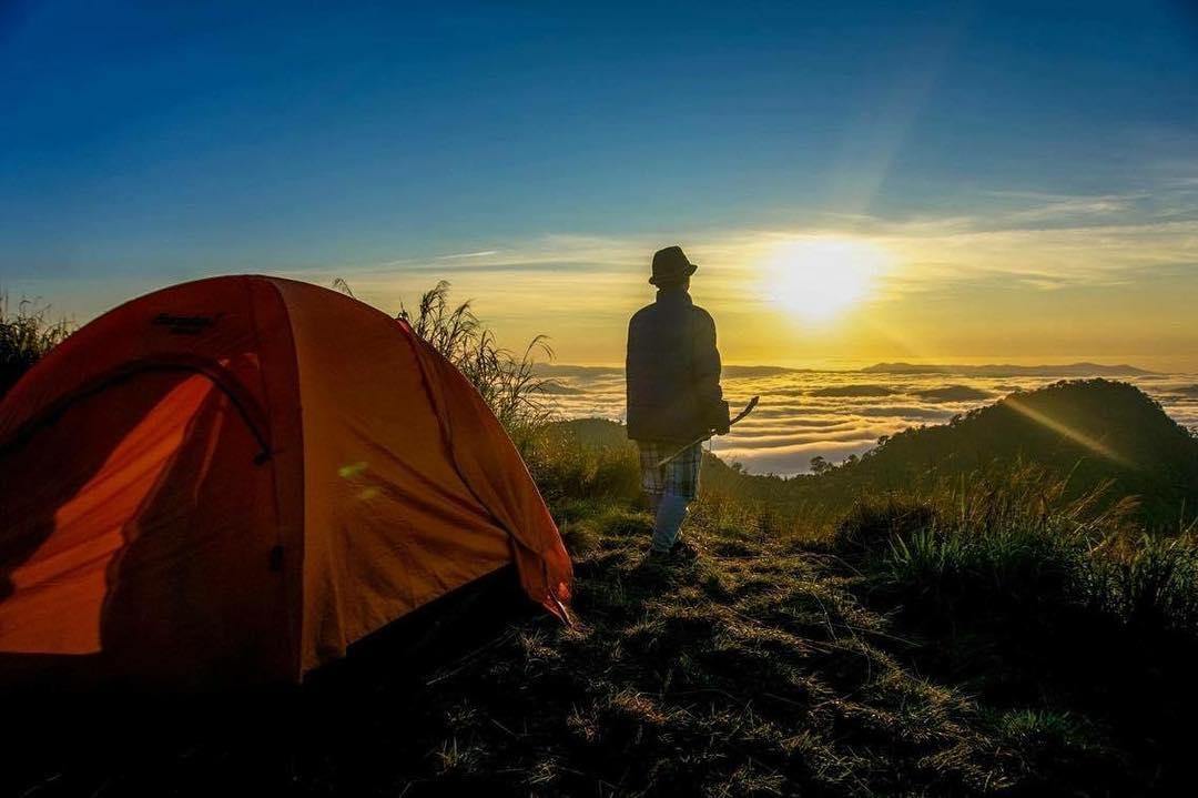 Cắm trại qua đêm ở Đà Lạt