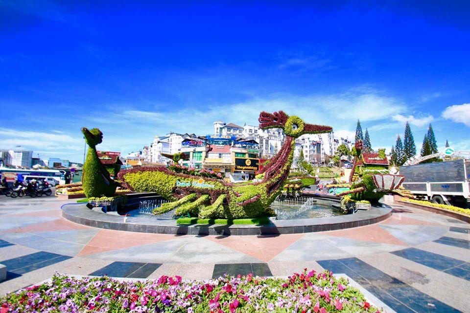 Lễ hội festival hoa hoành tráng ở Đà Lạt