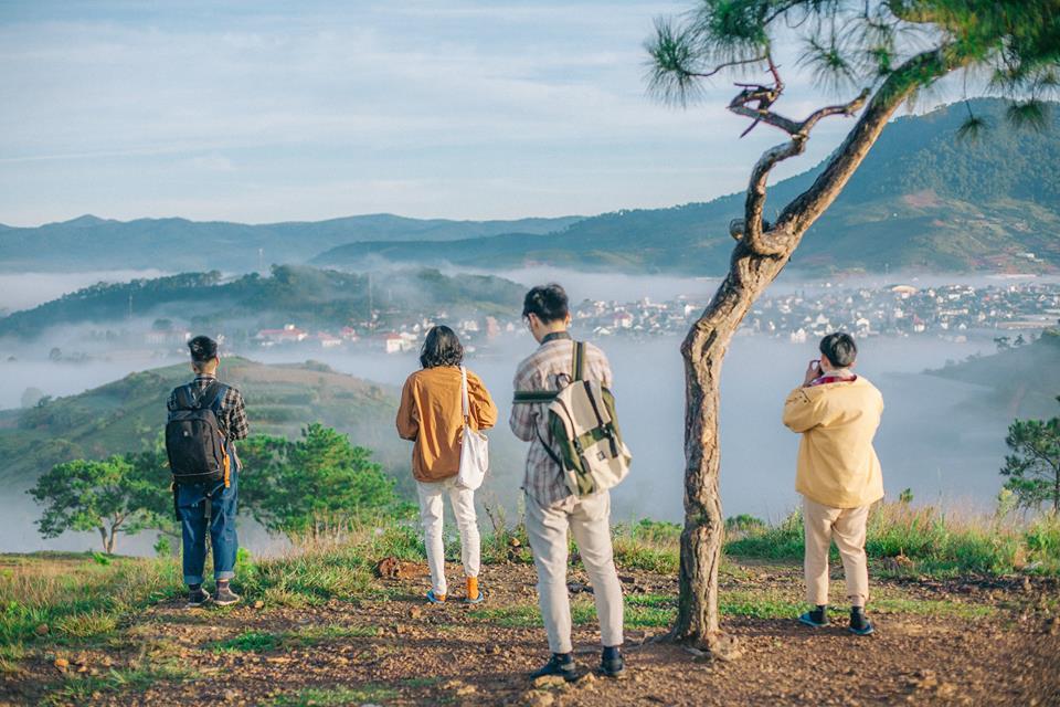 Kinh nghiệm du lịch Đà Lạt - Đà Lạt ngập tràn trong sương mù