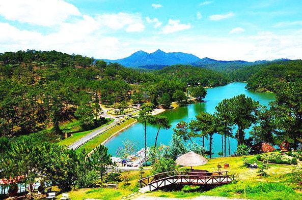 Nơi check in đẹp tại Đà Lạt - Thung Lũng Vàng