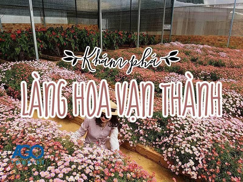 Check in Làng Hoa Vạn Thành Đà Lạt