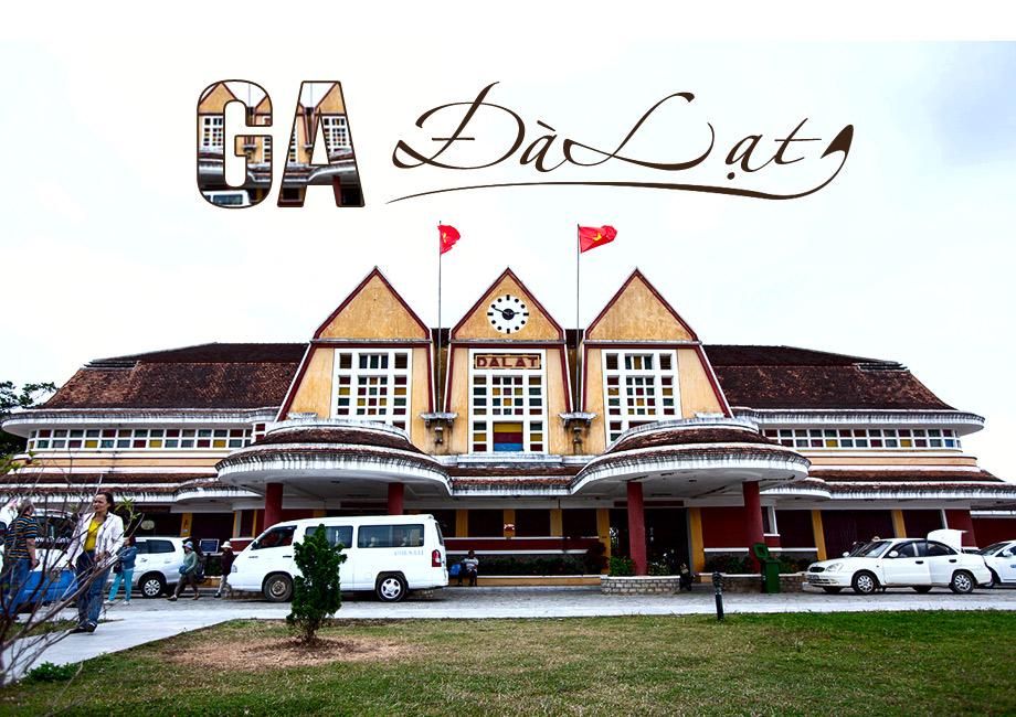 tour du lịch Đà Lạt 3 ngày 2 đêm - Ga Đà Lạt
