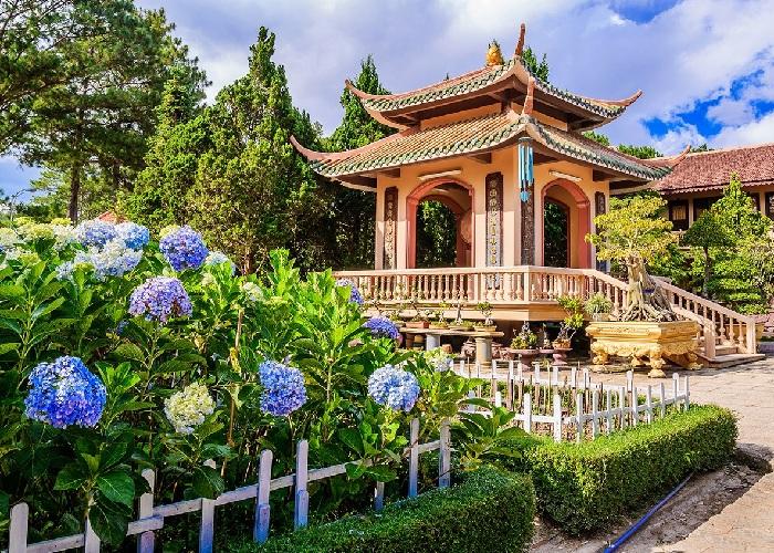 Ghé thăm thiền viện Trúc Lâm Đà Lạt