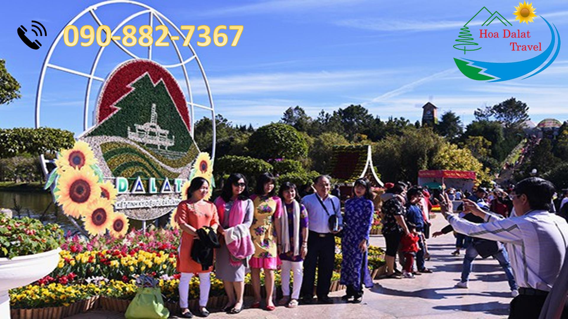 Số điện thoại đặt tour du lịch Đà Lạt