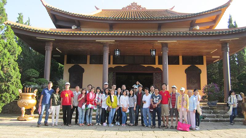 Tour du lịch Đà Lạt 2 ngày 3 đêm - Thiền Viện Trúc Lâm