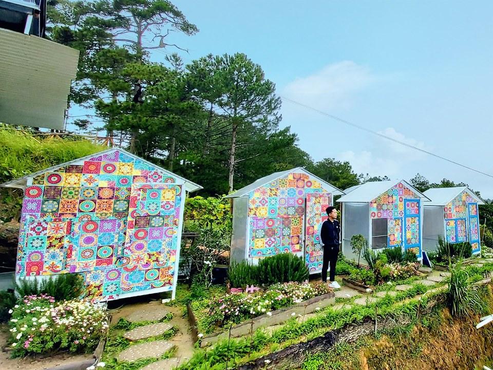 Cafe nông trại vui vẻ sunny farm Đà Lạt