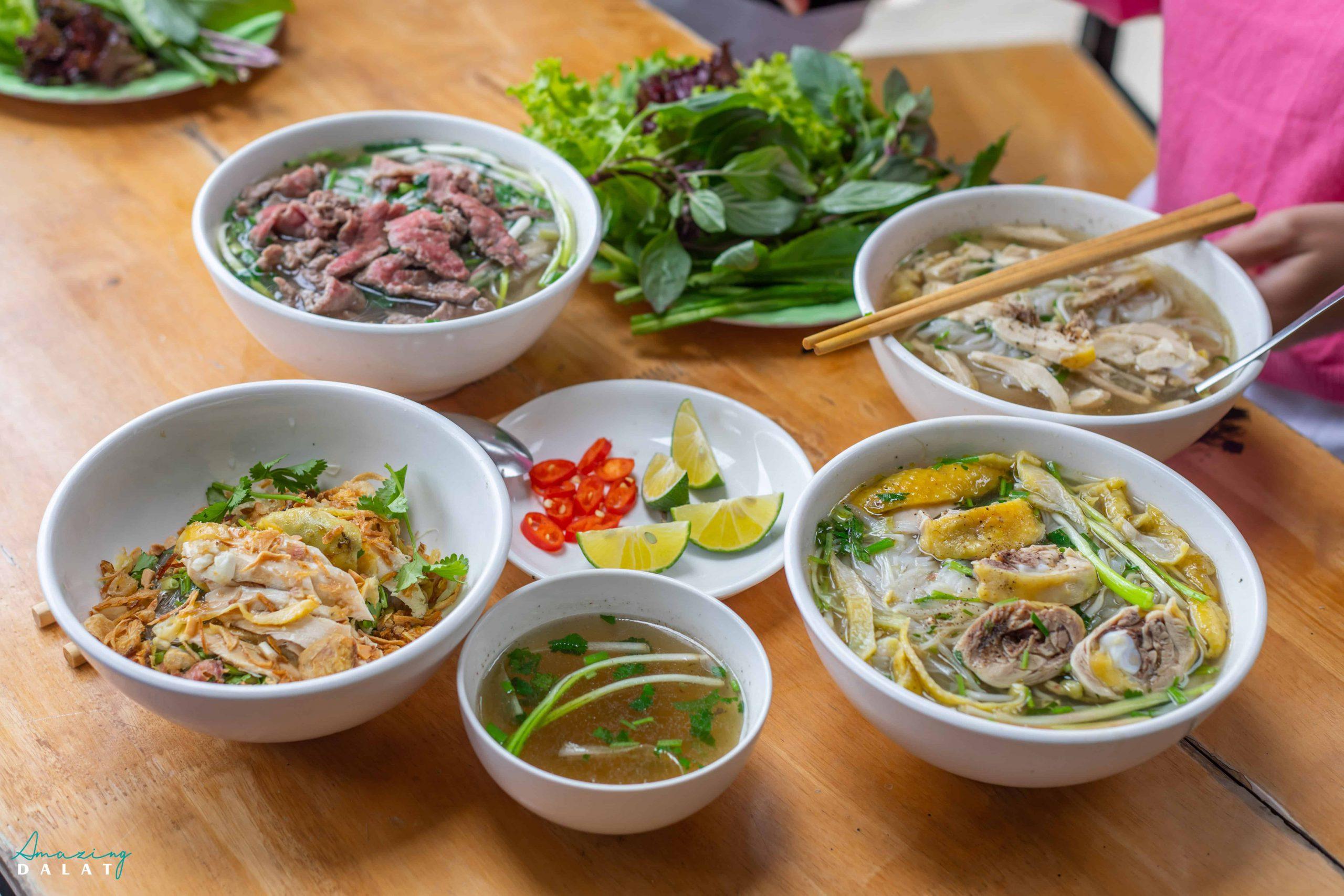 Quán phở Hà Nội tại Đà Lạt