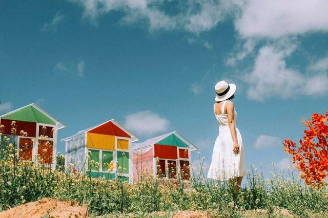 Nông trại vui vẻ sunny farm cafe Đà Lạt