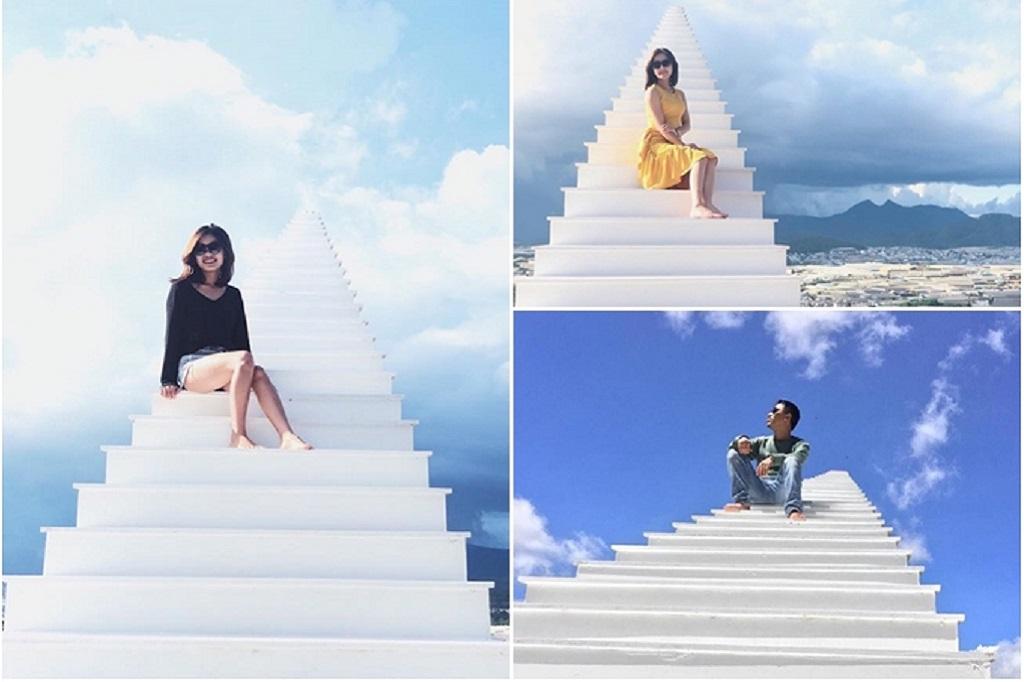 Nấc thang lên thiên đường - Sunny Farm Đà Lạt