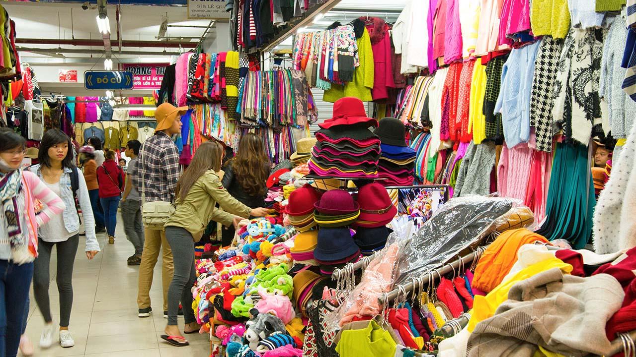 Thuận tiện cho việc mua sắm và tham quan