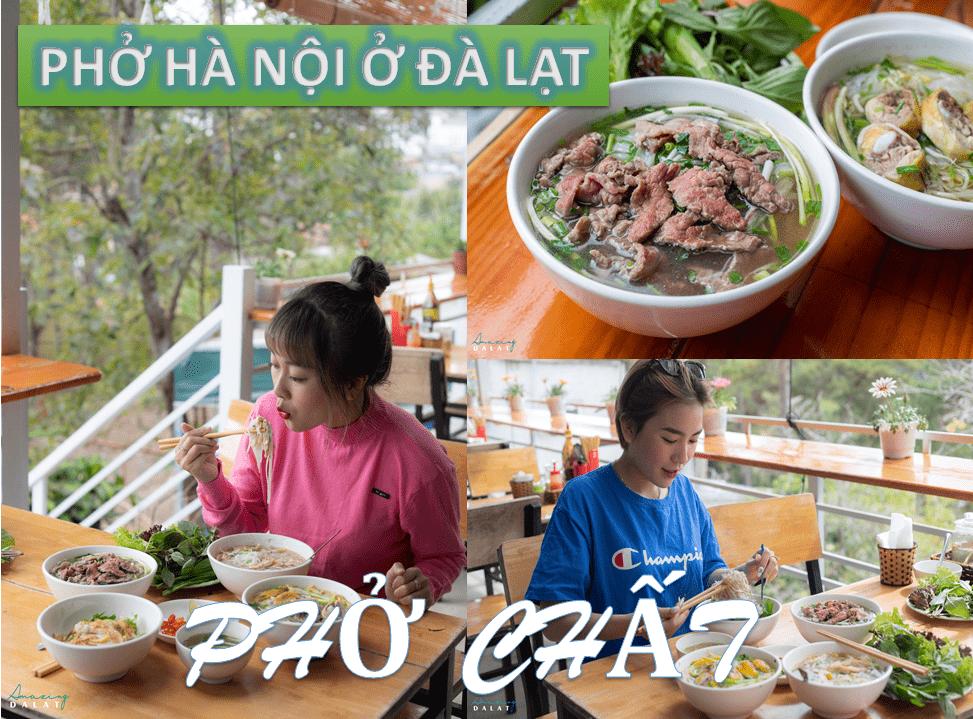 Phở Hà Nội ở Đà Lạt