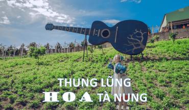 Check in cực phẩm tại thung lũng hoa Tà Nung