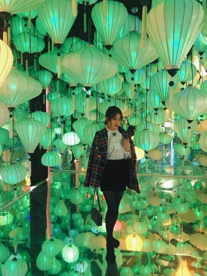 vườn ánh sáng Lumiere